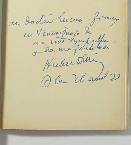 HUBERT-FILLAY. Paul Besnard. Poète de la Sologne. Paul Besnard à la Morinière en 1920. Besnard en croisière sur la Loire, par Jacques-Marie Rouge, livre rare du XXe siècle