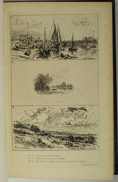 LOSTALOT (Alfred de). Les procédés de la gravure, par Alfred de Lostalot, rédacteur de la Gazette des Beaux-Arts, livre rare du XIXe siècle