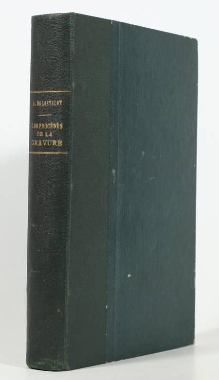 LOSTALOT - Les procédés de la gravure - (Vers 1882) - Illustrations - Photo 1, livre rare du XIXe siècle