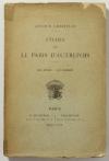 CHRISTIAN (Arthur). Etudes sur le Paris d'autrefois : Les juges - Le clergé