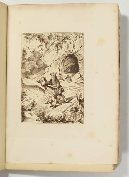 PIFTEAU (Benjamin). Moliere en province. Etude sur sa troupe ambulante; suivi de Moliere en voyage, comédie en un acte, en vers, livre rare du XIXe siècle