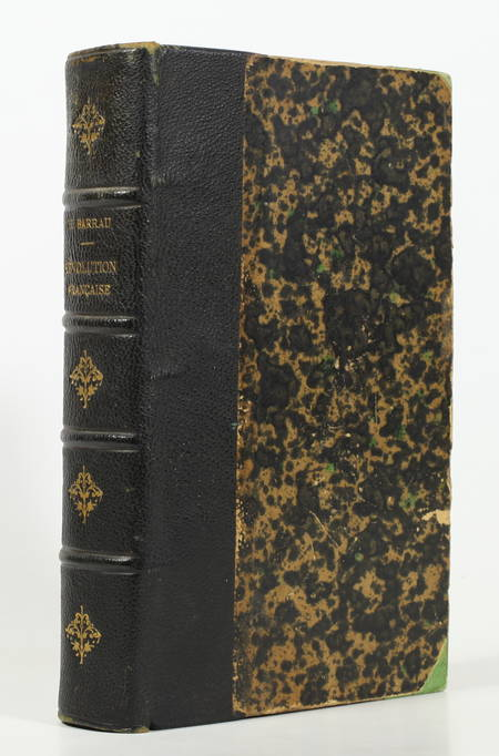BARRAU - Histoire de la Révolution française (1789-1799) - 1871 - Relié - Photo 0, livre rare du XIXe siècle