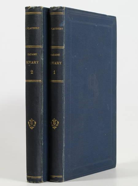 FLAUBERT (Gustave). Madame Bovary. Moeurs de province. Nouvelle édition