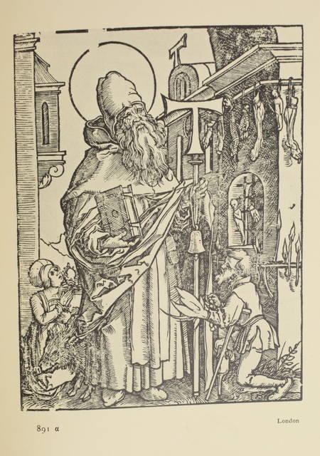 PAULI (Gustav). Hans Sebald Beham. Nachträge zu dem Kritischen Verzeichnis seiner Kupferstiche, radierung und holzschnitte