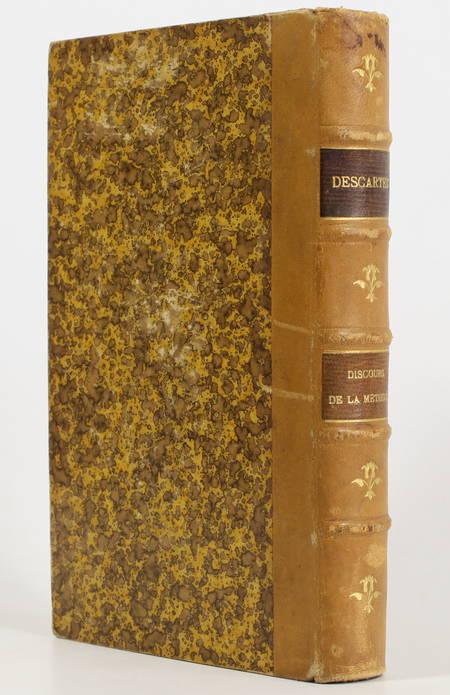 DESCARTES. Discours de la méthode, et choix de lettre françaises avec introduction par B. Aubé