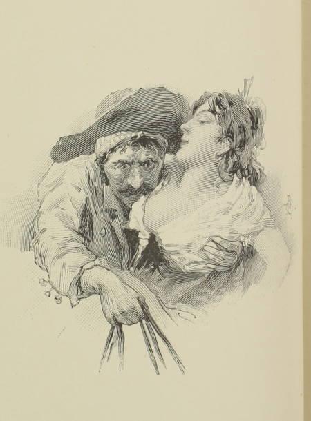 DAUDET (Alphonse). L'arlésienne. Pièce en cinq tableaux