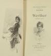 [Petit format]  Goethe - Werther - Illustrations de Marold - 1892 - Photo 1, livre rare du XIXe siècle