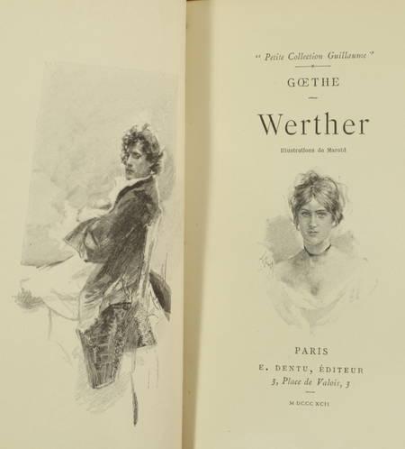 [Petit format] Goethe - Werther - Illustrations de Marold - 1892 - Photo 1 - livre de collection
