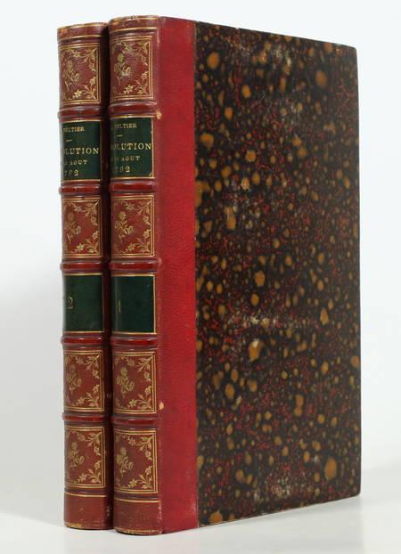 PELTIER Dernier tableau de Paris, récit historique de la révolution de 1792 - 2v - Photo 0 - livre de collection
