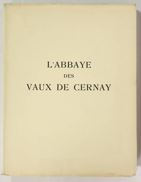 Aubert et Verrier - Abbaye des Vaux de Cernay - 1931 - 1/25 Japon - Photo 0 - livre de collection