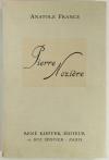 Anatole FRANCE - Pierre Nozière - 1925 - Eaux-fortes de Paul-Maurice Vigoureux - Photo 1, livre rare du XXe siècle