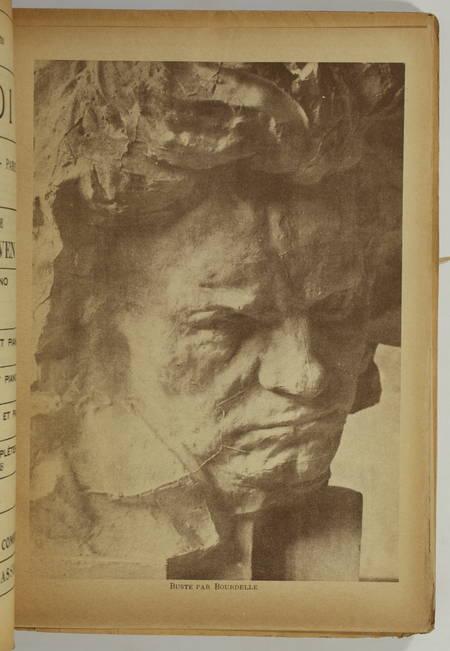 . Beethoven. Numéro spécial de la Revue Musicale, 1er avril 1927