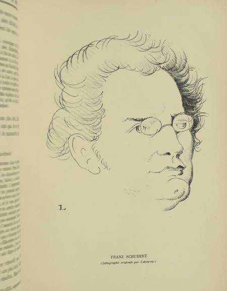 . Schubert. Numéro spécial de la Revue Musicale, 1er décembre 1928, livre rare du XXe siècle