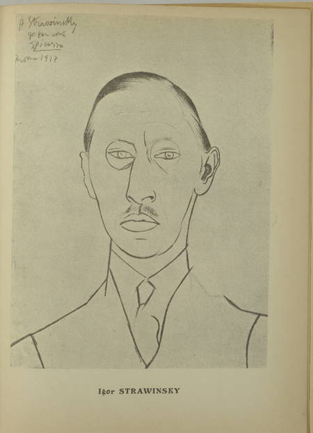 . Igor Strawinsky. Numéro spécial de la Revue Musicale, 1er décembre 1923 [Suivi du supplément musical :] Portrait, pour piano, par Emerson Whithorne