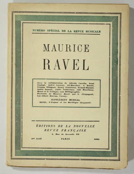 [Revue musicale] Maurice Ravel 1925 - ex sur pur fil + Enfant et les sortilèges - Photo 2 - livre du XXe siècle