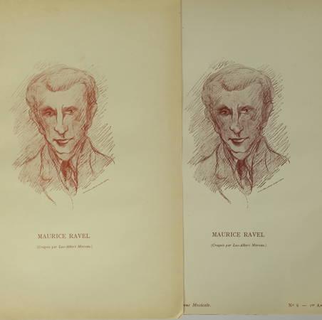 [Revue musicale] Maurice Ravel 1925 - ex sur pur fil + Enfant et les sortilèges - Photo 3 - livre du XXe siècle