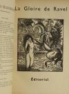 [Revue musicale] Hommage à Maurice Ravel - 1938 + Tripatos - Photo 1 - livre d occasion