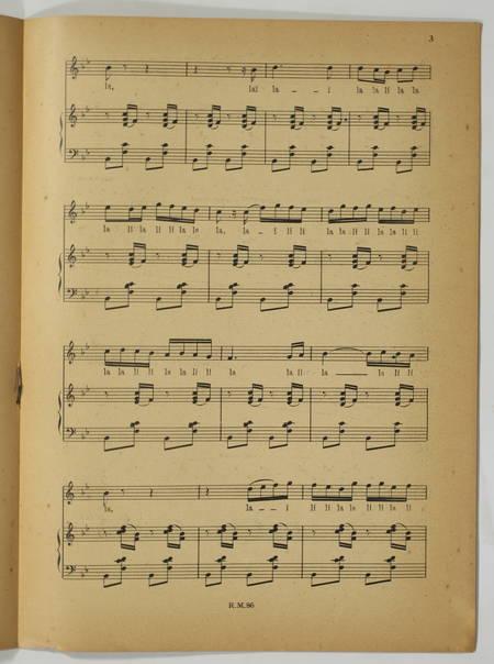 [Revue musicale] Hommage à Maurice Ravel - 1938 + Tripatos - Photo 4 - livre d occasion