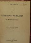 Georges MUSSET - Les faïenceries rochelaises - 1888 - Planches en couleurs - Photo 4 - livre de collection