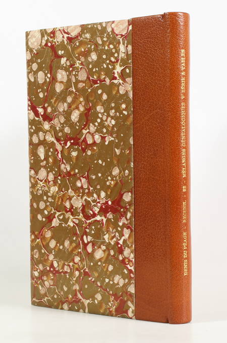 DENIS du PEAGE (Paul). Mélanges généalogiques. Cinquième série et tables, livre rare du XXe siècle