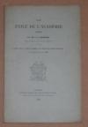 BARBIER - Un éxilé de l académie en 1685 - 1888 - Photo 0 - livre d occasion