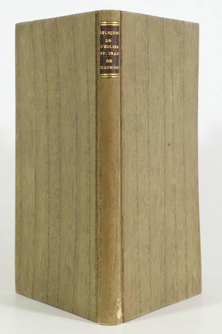 [Haute-Marne] Le trésor des reliques de l'église Saint-Jean de Chaumont - 1880 - Photo 0 - livre rare