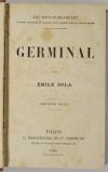 ZOLA (Emile). Germinal