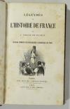 COLLIN de PLANCY - Légendes de l histoire de France 1846 - planches couleurs EO - Photo 2, livre rare du XIXe siècle