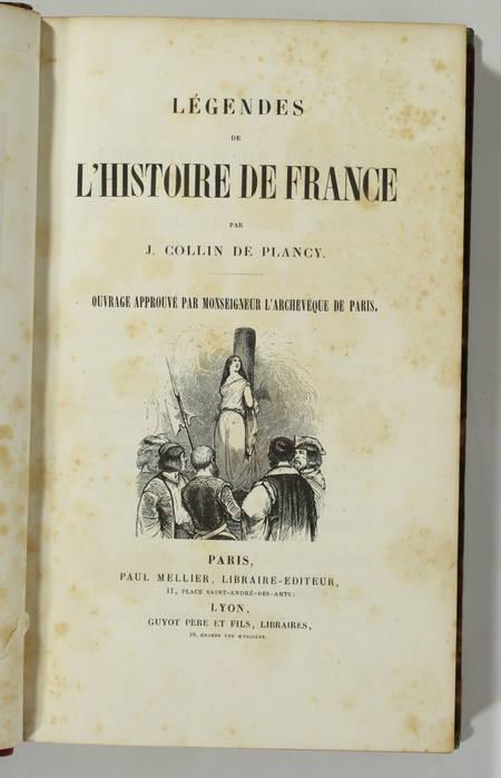 Collin Plancy Legendes Histoire France 1846