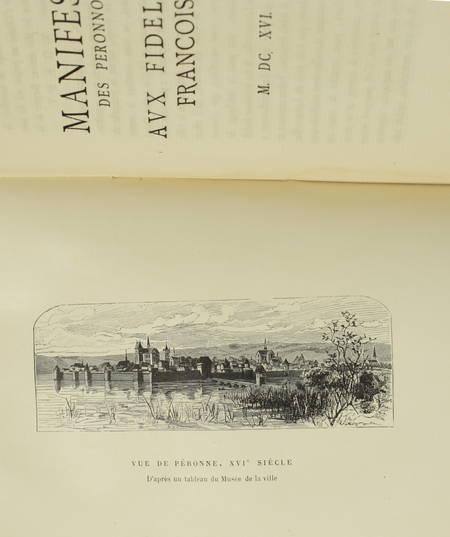 DANICOURT - Une révolte à Péronne sous le maréchal d Ancre en 1616 - 1885 - Photo 1 - livre de collection