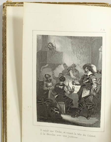 LECLERC - Richard, où le dévouement à la famille des Stuarts - 1853 - Cartonnage - Photo 3, livre rare du XIXe siècle