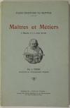 [Mantois] FERRY - Maîtres et métiers à Mantes, il y a trois siècles - (1953) - Photo 0, livre rare du XXe siècle