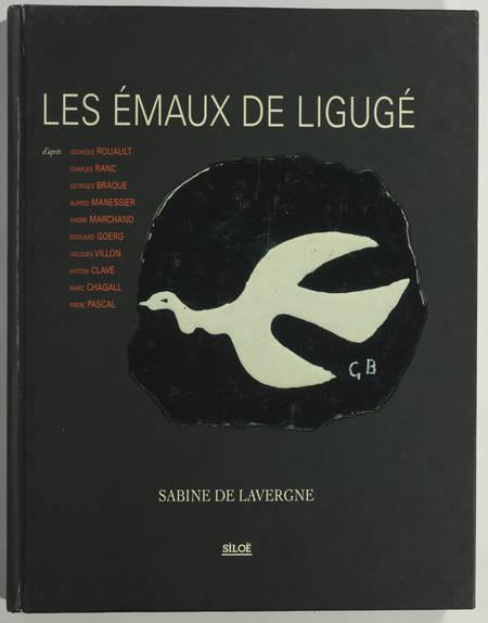 Sabine de LAVERGNE - Les émaux de Ligugé - 1998 - Photo 0 - livre du XXe siècle
