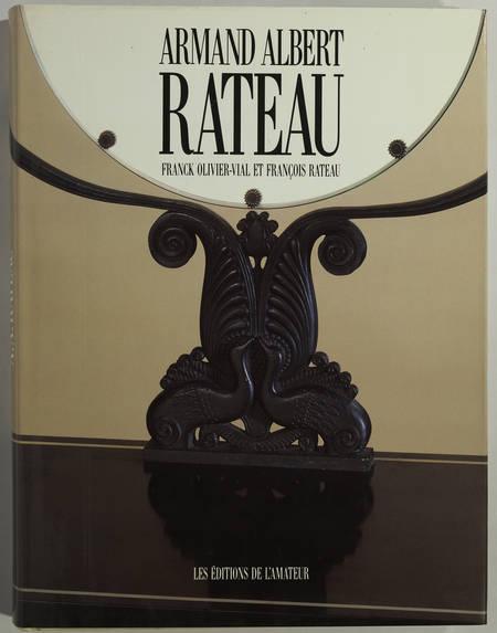 OLIVIER-VIAL - Armand Albert Rateau - Un baroque chez les modernes - 1992 - Photo 0 - livre de bibliophilie