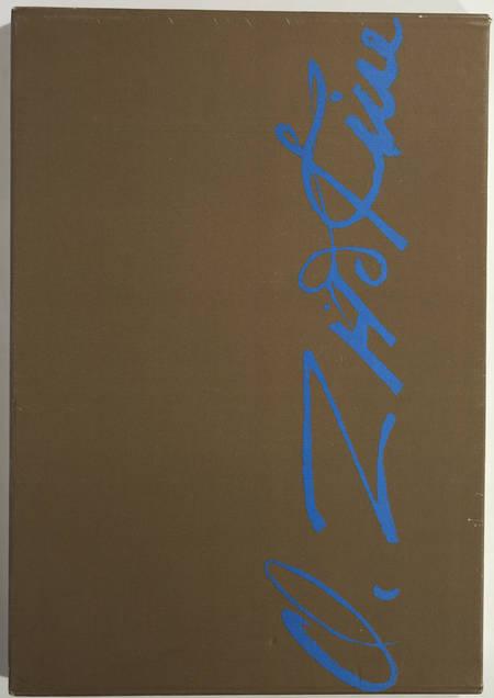 STAUB (Helena). Quatre-vingts dessins de Zadkine, livre rare du XXe siècle