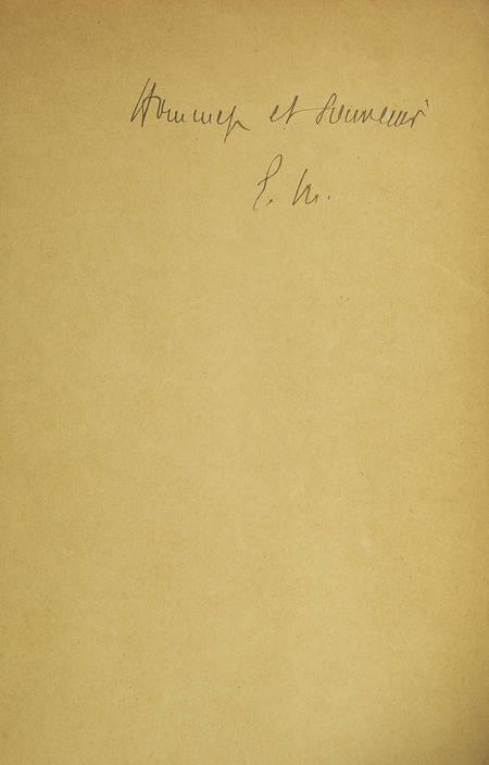 MARGERIE (Emmanuel de). L'oeuvre de Sven Hedin et l'orographie du Tibet
