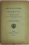 [Montagne] MARGERIE - L oeuvre de Sven Hedin et l orographie du Tibet - 1929 - Photo 1 - livre moderne