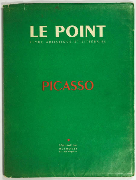 Picasso - Le Point XLII Octobre 1952 - Photos Doisneau, Textes Reverdy, Tzara .. - Photo 1 - livre moderne