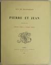 MAUPASSANT - Pierre et Jean - 1888 - Duez et Lynch - 1ère édition illustrée - Photo 1 - livre de collection