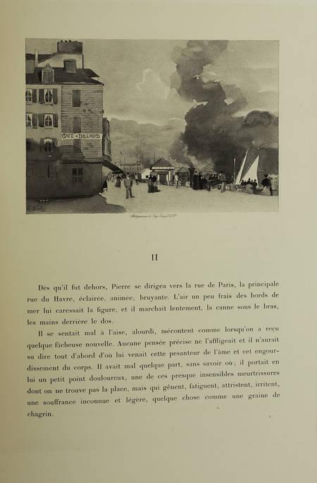 MAUPASSANT - Pierre et Jean - 1888 - Duez et Lynch - 1ère édition illustrée - Photo 2 - livre de collection