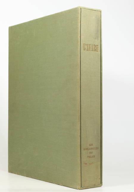 MOLIERE - L avare - 1973 - Lithographies originales de Fontanarosa - Photo 1, livre rare du XXe siècle