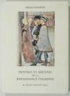 KEMPERS (BRAM). Peintres et mécènes de la Renaissance italienne