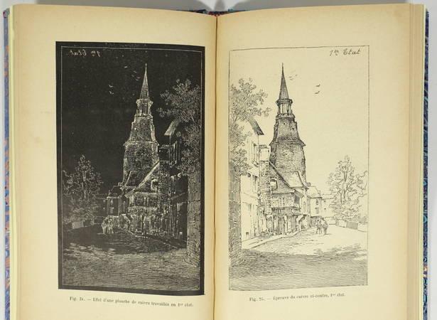 [Estampe ] FRAIPONT - Eau-forte, pointe-sèche, burin, lithographie - Techniques - Photo 1 - livre du XXe siècle