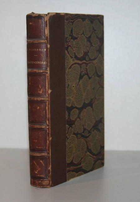 Maurice MAINDRON - Saint-Cendre 1898 - EO - Relié - ENVOI à M. Augé - Photo 1 - livre de bibliophilie