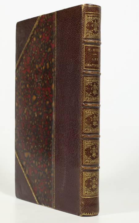 HUGO (Victor). Les châtiments. Seule édition complète, livre rare du XIXe siècle