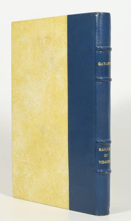 GAVARNI - Masques et visages - 1857 - Vignettes gravées sur bois - Photo 1, livre rare du XIXe siècle