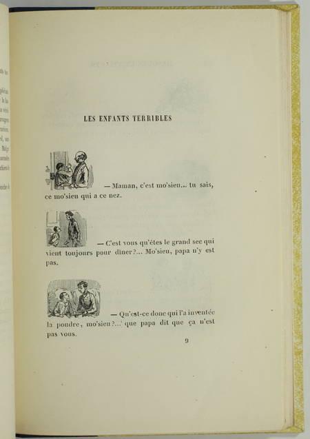 GAVARNI - Masques et visages - 1857 - Vignettes gravées sur bois - Photo 3, livre rare du XIXe siècle