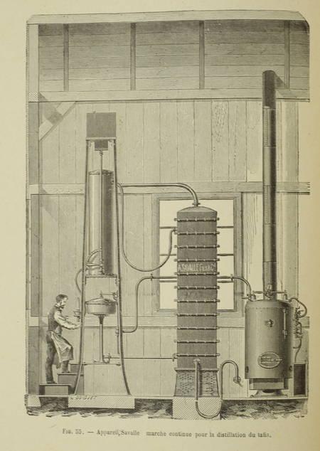 BOIZARD (E.). Notions élémentaires sur les boissons fermentées, les alcools et les vinaigres, livre rare du XIXe siècle