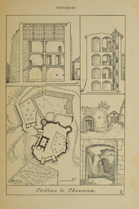 MORIZE - Le canton de Chevreuse - 1892 - carte et 15 planches - Relié - Photo 1 - livre de collection