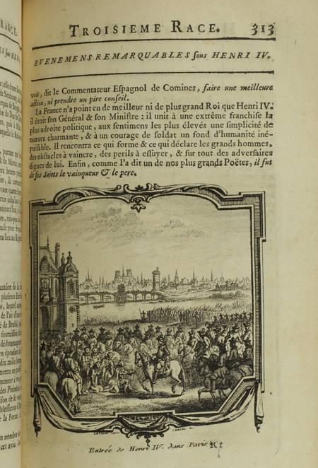 [HÉNAULT (Charles-Jean-François)]. Nouvel abrégé chronologique de l'histoire de France, contenant les événements de notre histoire, depuis Clovis jusqu'à la, mort de Louis XIV, les guerres, les batailles, les sièges, etc.